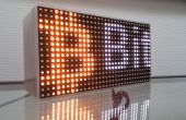 Faire défiler un message sur une matrice de LED