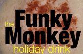 Cocktail de vacances pour le lait de poule funky Monkey