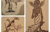 Comment dessiner Cartoon Simple / comique caractères