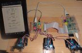 Framboise serveur Web envoie des données GET à l'Arduino Nano conduite 6 servos