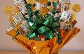 St Patrick Day artisanat : Argent Candy Bouquet