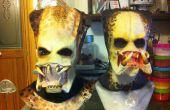 Masque de Predator marquer partie 2-2 moule en plâtre pour un masque de latex