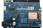 Le ESP8266 WeMos-D1R2 de programmation à l'aide du logiciel/IDE Arduino