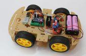 Smartphone sous contrôle Arduino Rover