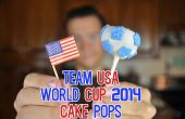 Soccer Ball Cake pop