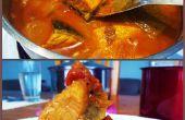Curry de poisson saumon