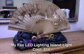 Île de LED d'éclairage du ventilateur