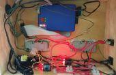 Web Based, Raspberry pi contrôlée, relais 2 canaux alimentation boîtier de commande.