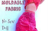 Moulable tissu pour vêtements de poupée