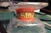 Tabac tachée dents confectionnée en gomme et d'arachide