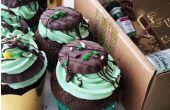 Petits gâteaux au chocolat à la menthe Patrick Saint-
