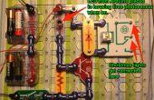 Programme un chapelet de lumières de Noël à clignoter le code morse avec Arduino & Snap Circuits