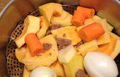 Soupe de potiron et au gingembre de mamies