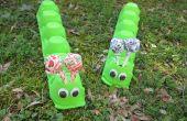 Artisanat d'été pour les enfants : oeufs Carton Caterpillar