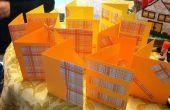 Une seule feuille Wonder - maison « Boxed » cartes