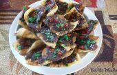 Croustilles de Tortilla de caramel avec Jalapenos confits