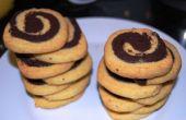 Les Cookies de couleur double
