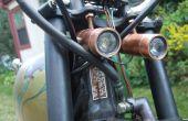 Double phares haute puissance LED moto