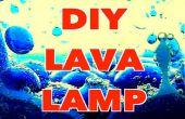 Comment faire une lampe à lave bricolage