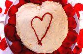 Gâteau de velours rouge Saint Valentin coeur