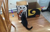 BRICOLAGE Nightmare Before Christmas Cat House