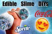 DIYs Slime comestibles : Galaxy Slime Slime Stress Ball et Emoji Slime conteneur