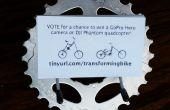 Porte-carte de pièces de vélo