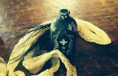 Poudre d'apothicaire « Vaudou » Spooky & Potion épeler bouteilles pour Halloween
