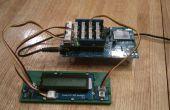 Affichage de température Intel Edison/Arduino avec rétro-éclairage momentanée