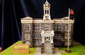 Maquette de bâtiment historique : Palais de justice de