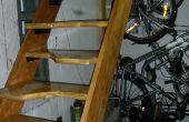 Alternant les escaliers de la bande de roulement