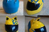 Modification casque Cosplay Celty