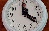 Horloge personnalisée avec Photo mains