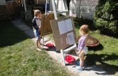 Rapide et sale chevalet pour enfants