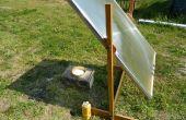 Une lentille solaire de TV