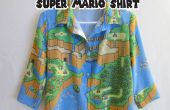 Super Mario Button Up Shirt