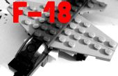 LEGO Mini F-18 & contrôle tour