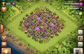 Clash des Clans hybride Base
