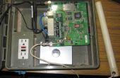 Plein air routeur Wrt54G avec adaptateur de réseau powerline pour fournir internet à caméras Wifi IP