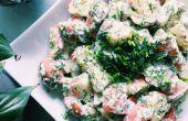 RECETTE | SALADE de pommes de terre crémeuse