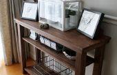 Construire une table console de salle à manger (côté ou table de service)