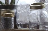 Comment réutiliser les pots de verre