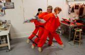 Danse Costume Chain Gang