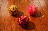 Ornements de boule de laine