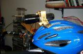 Réglable de Ski et vélo casque support pour lampe de poche LED