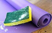 Nettoyer votre tapis de Yoga
