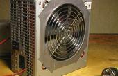 Brasage des fumées ventilateur de bloc d'alimentation