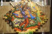Peinture de tapis sol caoutchouc