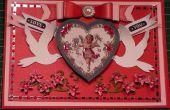 Comment faire une carte de Valentine victorienne Vintage Cherub