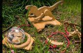 Pull en bois Jurassic Toy